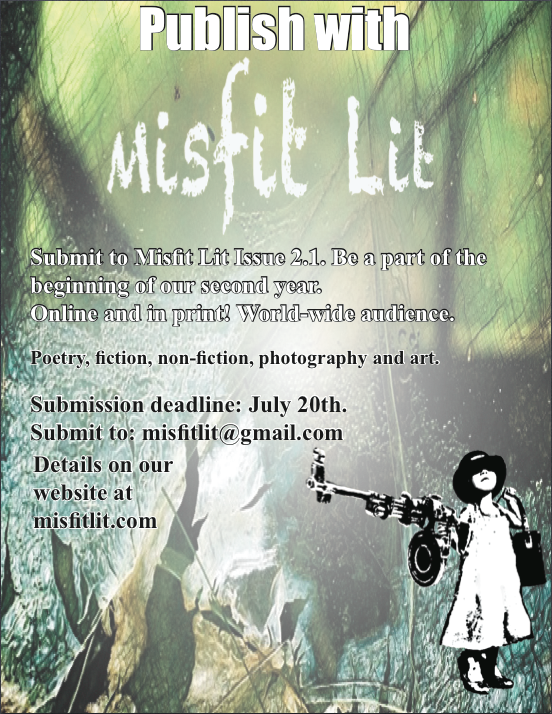 Misfit Lit Issue 2.1 Poster