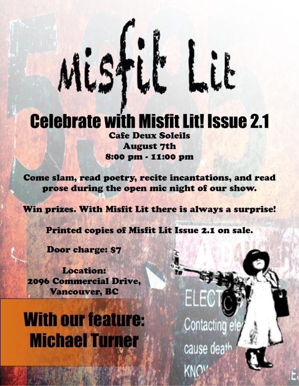 Misfit Lit Aug Event